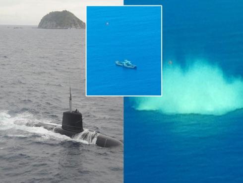 Latihan Tembakan Torpedo Kapal Selam TLDM Berjaya