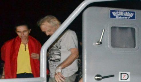 2 Rakyat Jerman Tiba Di Manila Selepas Dibebaskan Militan