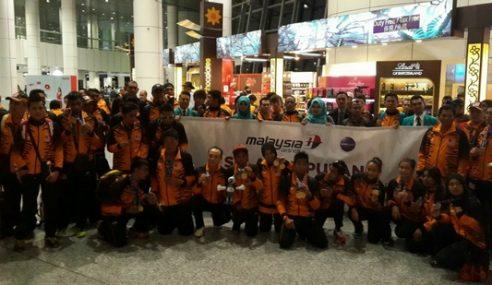 MAS Rai Kepulangan Kontinjen Paralimpik Malaysia