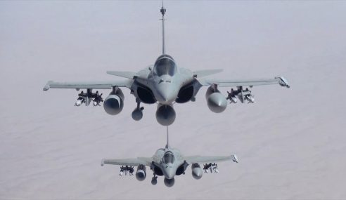 Jet Pejuang Perancis Letupkan 12 Kubu IS Di Iraq