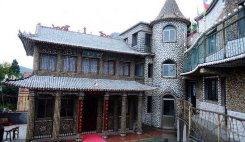 Rumah Sepenuhnya Dihiasi Dengan Cangkerang Siput