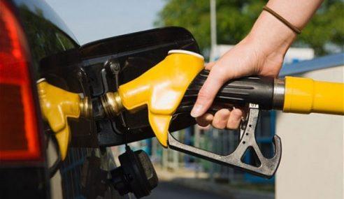 Harga Runcit Petrol RON95 Turun 10 Sen