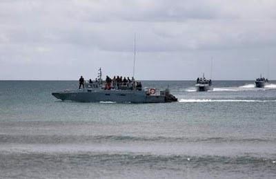 TLDM Pintas Lima Pendatang Di Laut Sulu