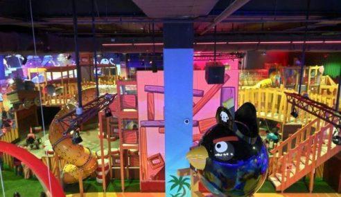 Taman Tema Angry Birds Dibuka Di JB 31 Okt