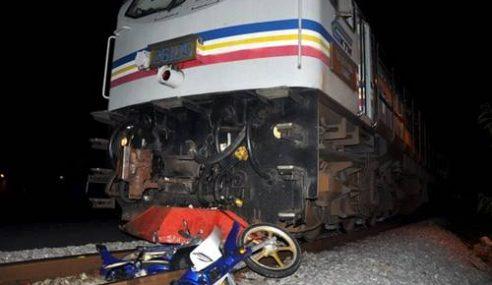 Tragedi Deepavali.. Remaja India Parah Dilanggar Keretapi