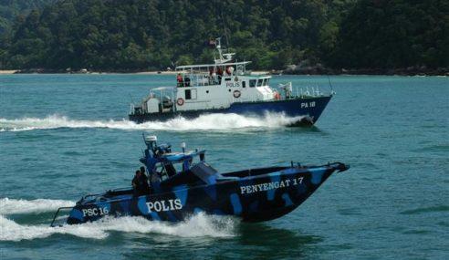 Polis Marin Terus Operasi Biarpun Dalam Musim Tengkujuh