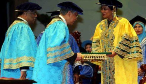 Tunku Puteri Intan Safinaz Dimasyhurkan Canselor UUM
