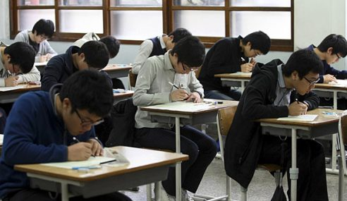 Korea Selatan Senyap Sunyi Demi Ujian Besar