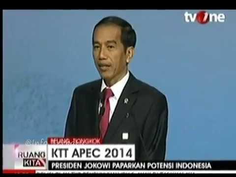 Kecoh Jokowi Cakap Inggeris Pelat Jawa Di APEC 2014