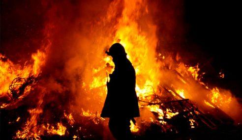 Seorang Rentung, 4 Melecur Dalam Kebakaran Rumah Di Beufort