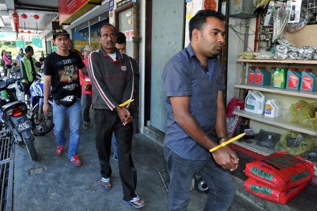 9 Warga Asing Ditahan Di Port Dickson