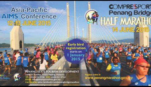 Larian Separuh Maraton Di Jambatan P.P Kedua Tahun Depan