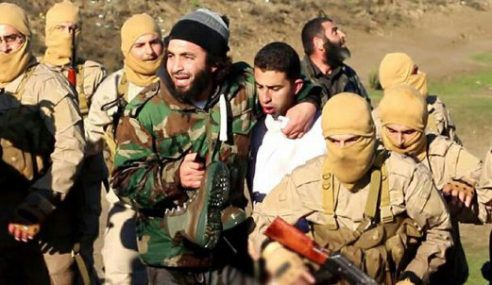IS Tawan Juruterbang Jordan Selepas Pesawat Terhempas