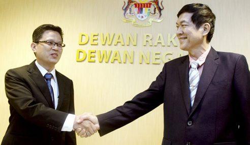Wakil Melaka, Johor Angkat Sumpah Senator