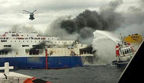 7 Maut Tragedi Feri Terbakar Di Laut Adriatik