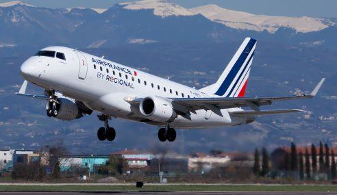 Kapten Air France Sakit Dada, Pesawat Patah Balik Ke Paris