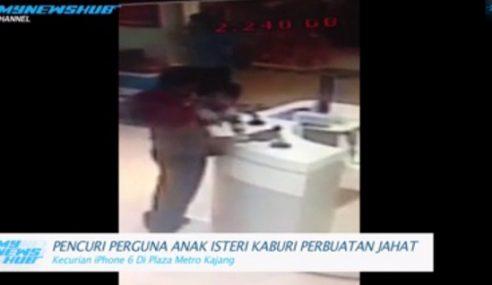 VIDEO: Pencuri Guna Anak Isteri Kaburi Perbuatan Jahat