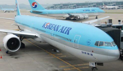 Hanya Kerana Kacang, Pesawat Korean Air Lewat Berlepas
