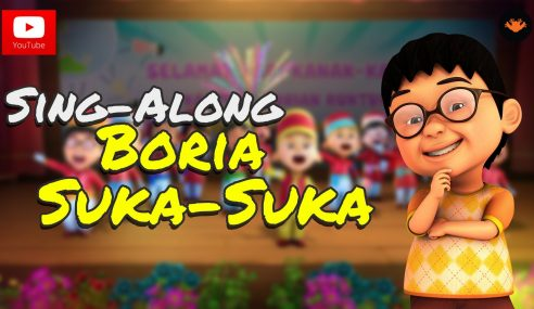 Video Boria Suka-Suka Upin & Ipin, Top Trending 2014