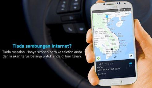 HERE Maps: Mudahkan Navigasi Tanpa Perlu Data Internet