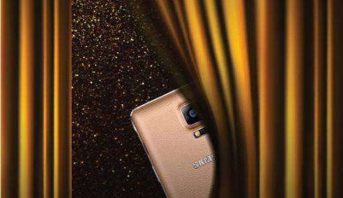 Samsung Galaxy Note 4 Warna Emas Tembaga.. Cam Comel Je