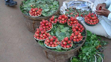 Eksport Strawberi India Ke Malaysia Meningkat