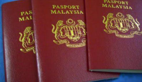 Pasport Hilang Ditemui Semula Tak Boleh Digunakan