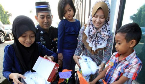PDRM Peruntuk RM1.5 Juta Bantu Anggota Terjejas Banjir