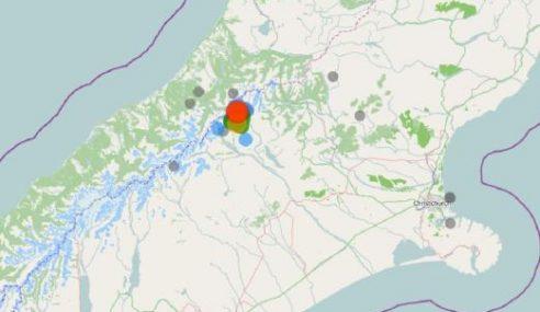 Gempa Kuat 5.6 Magnitud Landa New Zealand