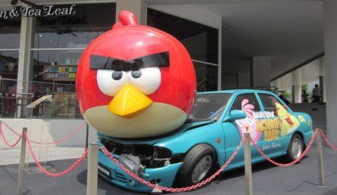 Apa Motif Angry Bird 'Mendarat' Atas Kereta Nasional?