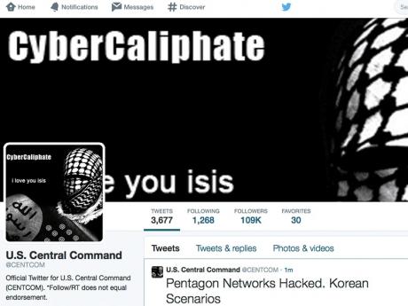 Militan IS Godam Akaun Twitter Tentera AS