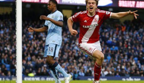 Manchester City Tersingkir, Rebah 2-0 Kepada Middlesbrough
