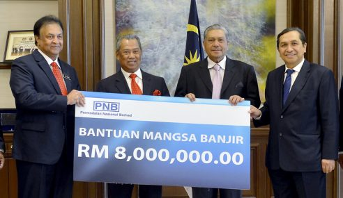 PNB Sumbang RM8 Juta Bantu Mangsa Banjir
