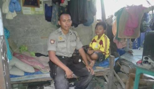 Hidup Serba Kekurangan, Tak Percaya Lulus Temu Duga Polis