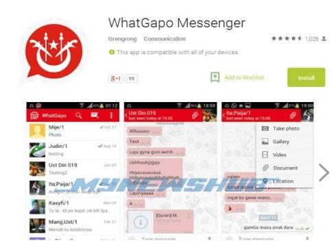 WhatGapo: Aplikasi Pesanan Mesej Terbaru Versi Kelantan