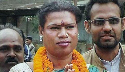 Madhu Kinnar Datuk Bandar Transgender Pertama Di India