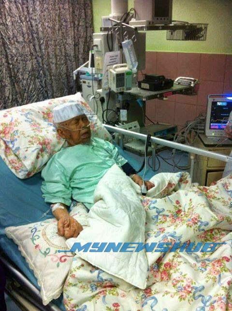 Perkembangan Kesihatan Nik Aziz Tunjuk Reaksi Positif