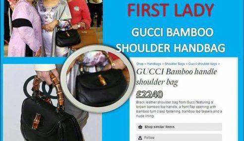 Bila 'First Lady Of Penang' Pakai Beg Gucci Ribuan Ringgit