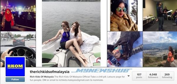 Instagram 'The Rich Kids Of Malaysia' Untuk Remaja Kaya…