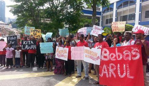 Arul PSM Ditahan, Permohonan Reman Ditolak Majistret