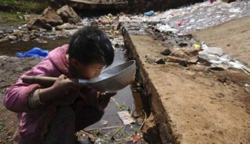 GAMBAR: Euuu! Jijiknya Tahap Pencemaran Di China