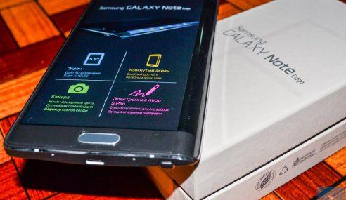 Galaxy Note Edge Mula Dijual Di Malaysia, Harga RM2949