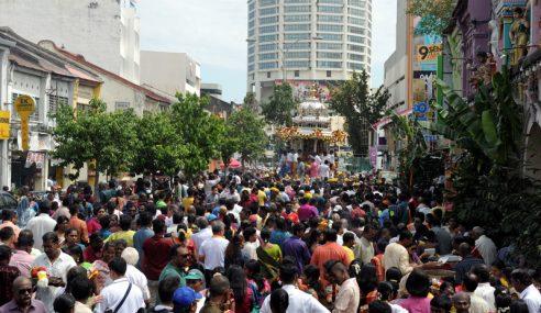 1,500 Anggota Polis Kawal Sambutan Thaipusam