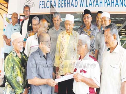 Peserta Felcra Bantah Projek Lombong Bijih Besi