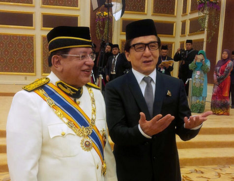 Jackie Chan Dapat 'Datuk' Sebab Police Story 3 – Tengku Adnan