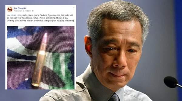 PM Singapura Terima Ugutan Bunuh Di Facebook