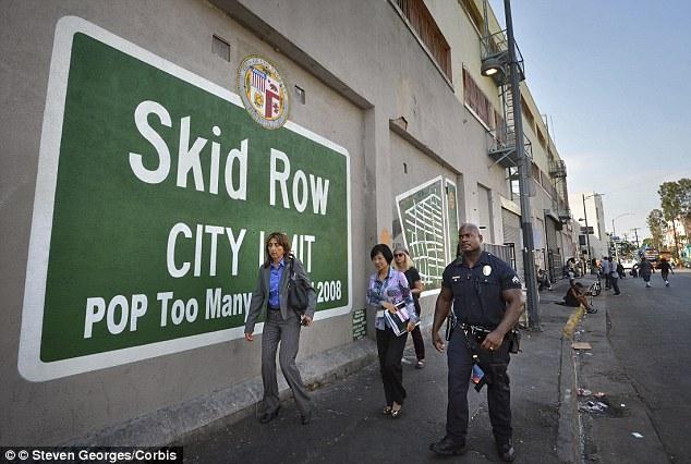 Daerah Skid Row Dikenali Ibu Kota Gelandangan