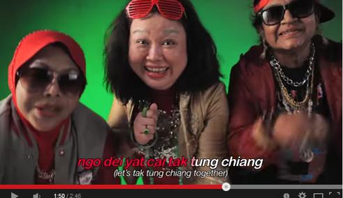 Video: Comel Giler Aksi & Nyanyian Rap 3 Nenek Ini Sempena CNY!