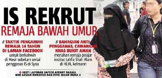 2 Polis Ditahan Paksa Seks Oral, Rogol Siswi Dalam Tandas
