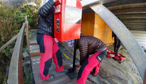 Perkhidmatan Pos Di Gunung Kinabalu Digantung